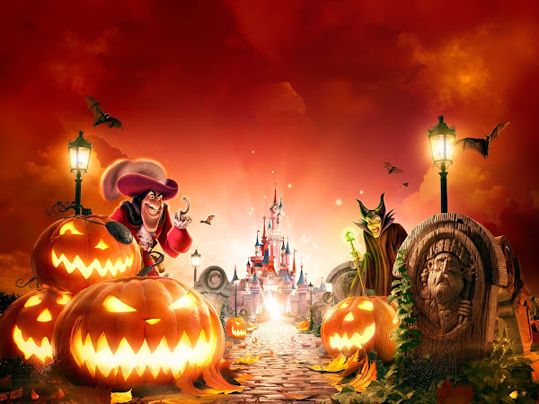 Halloween and Goofy's Skeletoon Street Party Celebrations at Disneyland Paris