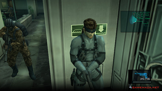 Metal Gear Solid 2 Substance Gameplay Screenshot 1