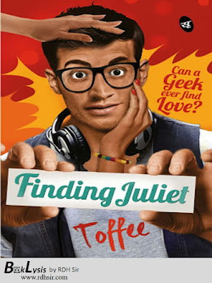Front Cover of finding Juliet by Toffee (BookLysis)