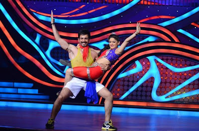 Any Body Can Dance Movie Team On Set Of Nach Baliye - 6