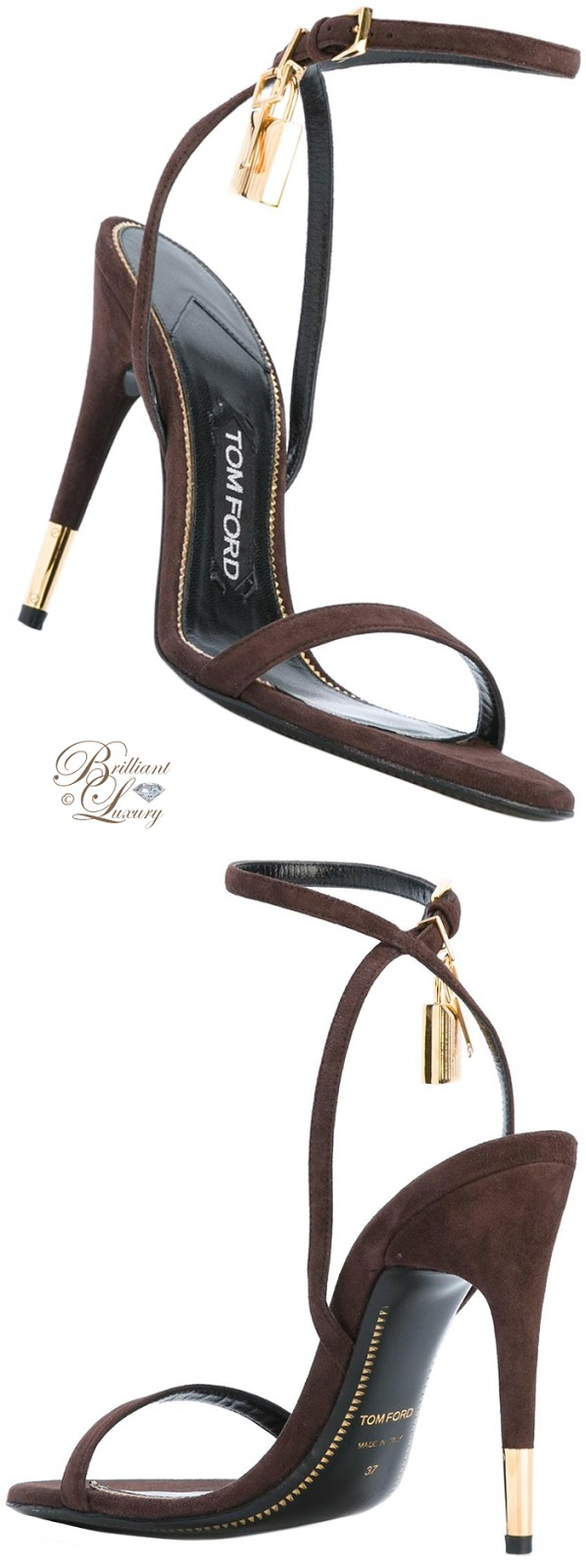 Brilliant Luxury ♦ Tom Ford Ankle Strap Sandals