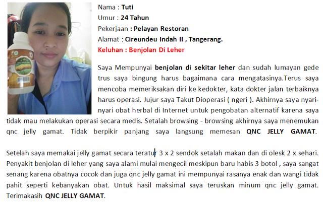 Jelly Gamat QnC Untuk Benjolan