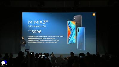 Xiaomi Mi Mix 3 5G Phone Price