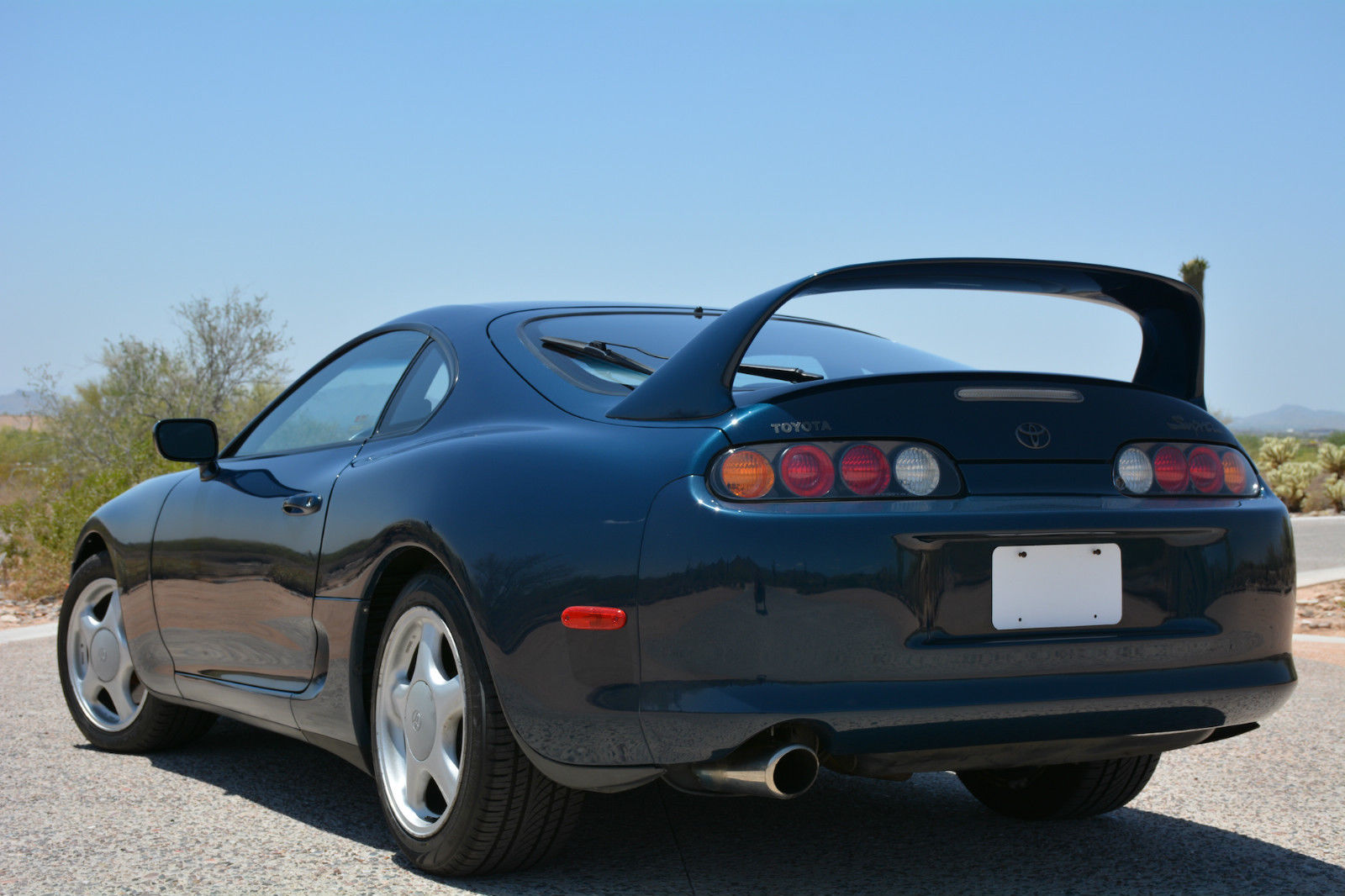 stock 1994 toyota supra twin turbo could be yours for the right price carscoops. Black Bedroom Furniture Sets. Home Design Ideas