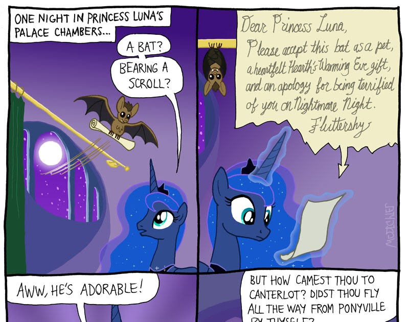 Equestria Daily Mlp Stuff Comic One Night In Princess