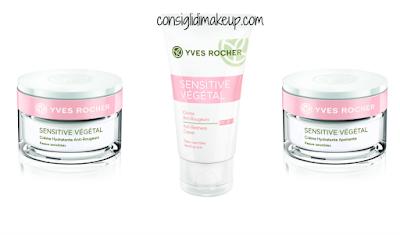 Preview Linea Sensitive Vègètal Yves Rocher  crema antirossori crema lenitiva pelli sensibili