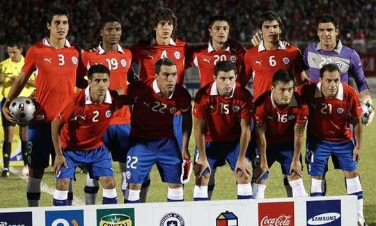 Formación de Chile ante Perú, Copa del Pacífico 2012, 21 de marzo