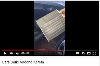 Cara Mudah Baiki Sendiri Aircond Kereta