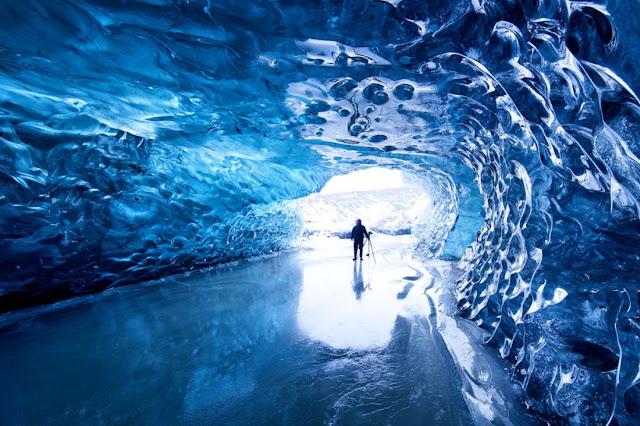 Glacier Caves Blue