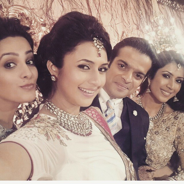 they looking so gorgeous😍😍😍😍😍 . . . @divyankatripathi @karan9198 ( baby di v z , mrs ex y patel ,  y m , yeh hai mohabbatein , sexy anni , serial ,  indian serial , raman , karan , divyanka , romance , divan , is r ra ,licious divan li c ious , divan , is r ra , divyanka ,tripathi best couple , best jodi , king of telly wood , queen divyanka , queen of telly wood , ishita , sexy ani , anita hassanandani , kp kisha adi , kan kita ,), Divyanka Tripathi Pics from Karan Patel's Wedding