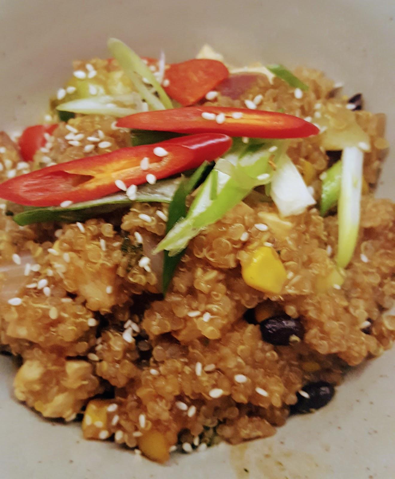 Bodega Leicester Review quinoa chifa
