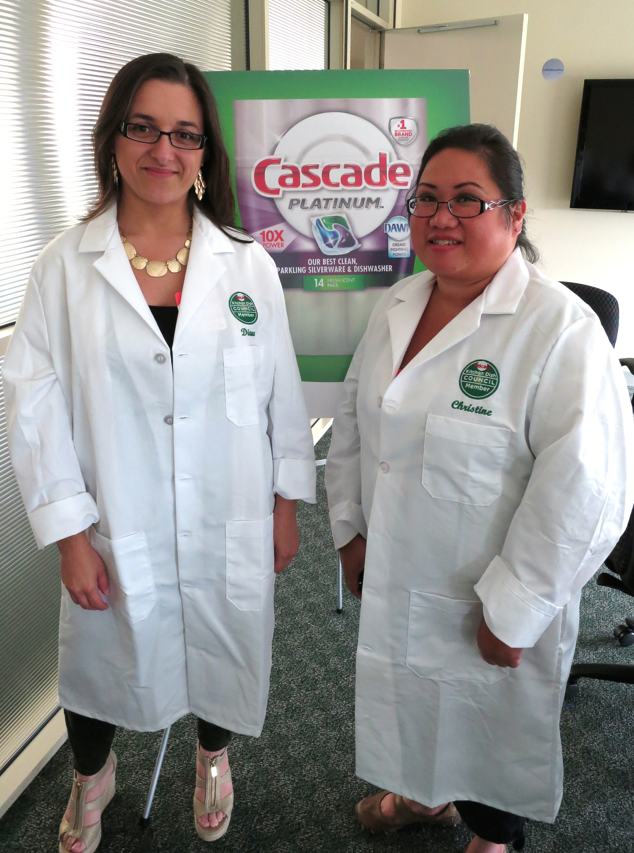 Diana and Christine - Cascade Blogger Day #CascadeShiningReviews #PGmom