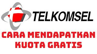 Cara Mendapatkan Kuota Gratis Telkomsel (AS, Simpati) April 2018