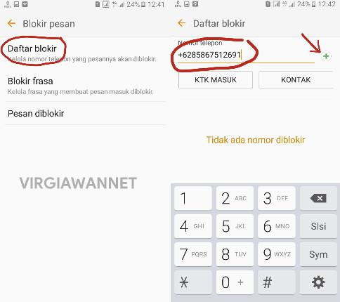 Cara Blokir Nomor Telepon dan SMS di Berbagai Smartphone Android