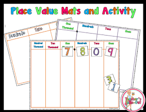 Free Place Value Mats to Millions Place