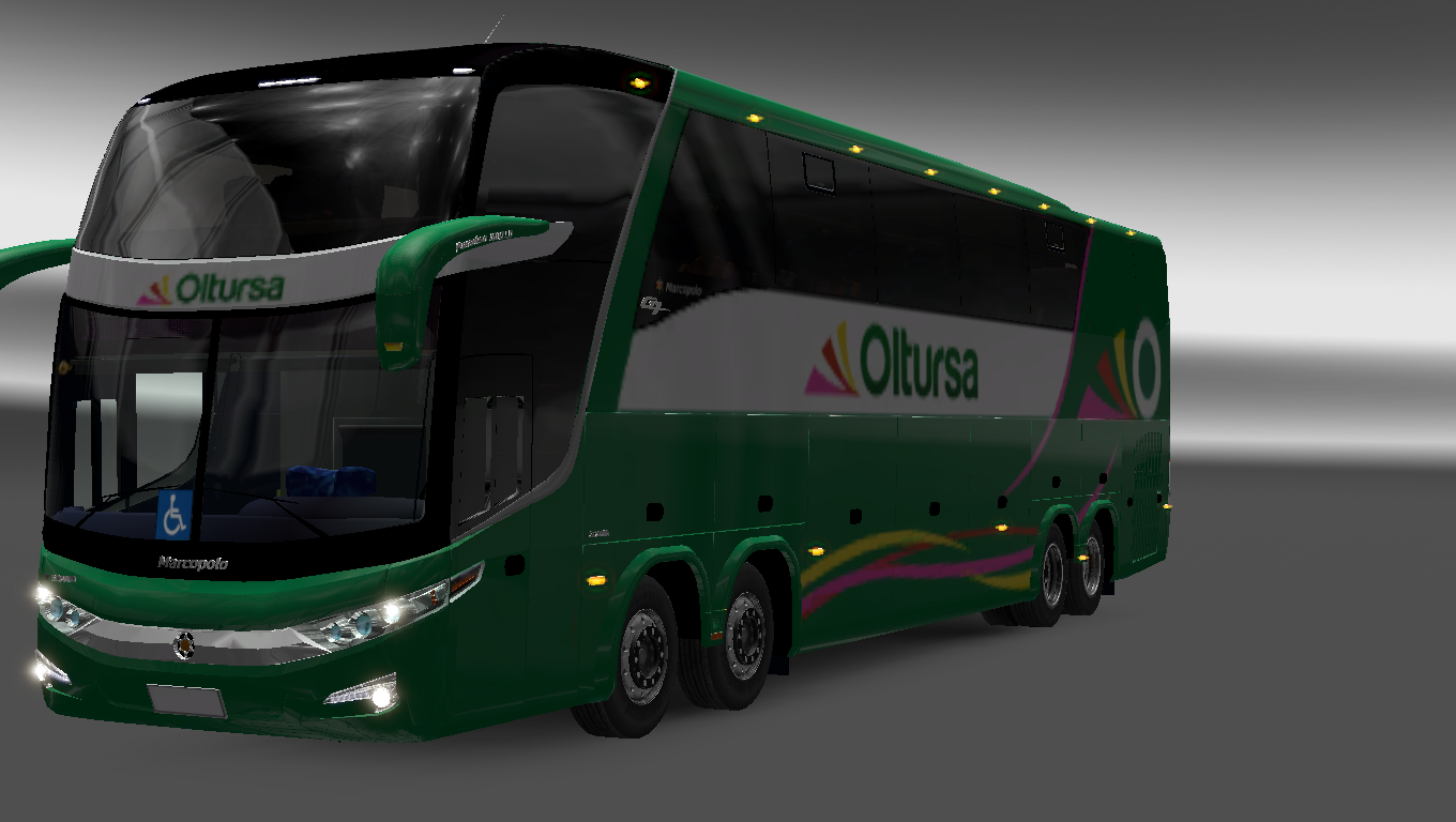 video games 4 playing: euro truck simulator 2 (ets2) mod[bus