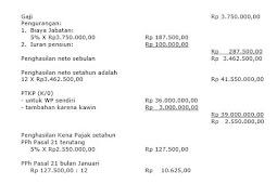 Gaji di Bawah 3 Juta Tidak Perlu Bayar Pajak