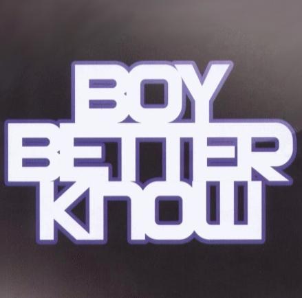 BOY BETTER KNOW EDITION 1: SHH HUT YUH MUH (JME) Mixtape Cover