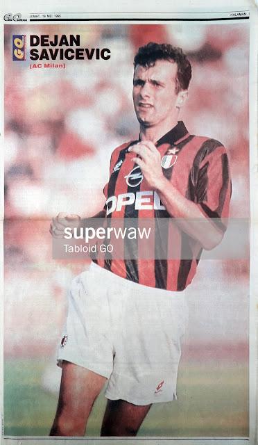 DEJAN SAVICEVIC AC MILAN 1995