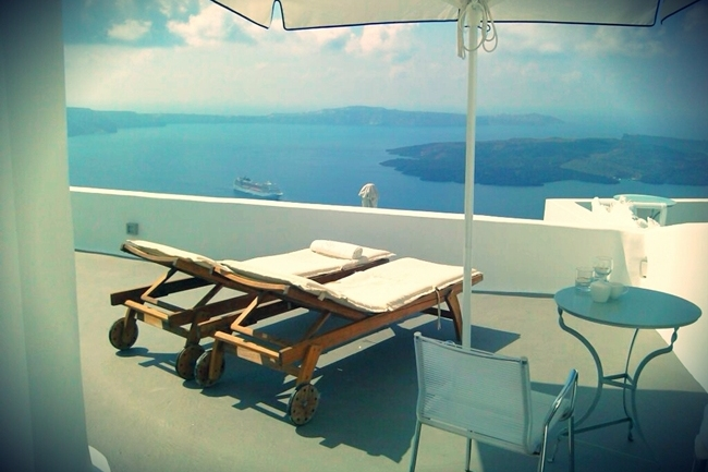 Chromata Santorini hotel rooms and suites