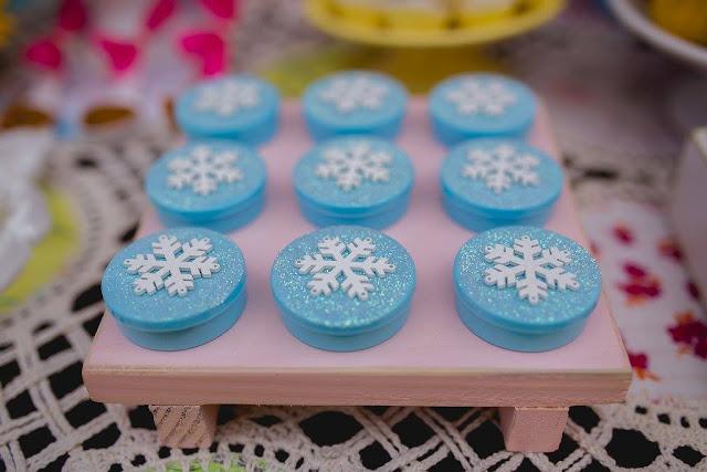 lembrancinha frozen fever girassóis diy e decoração na caixa bh que seja mágico