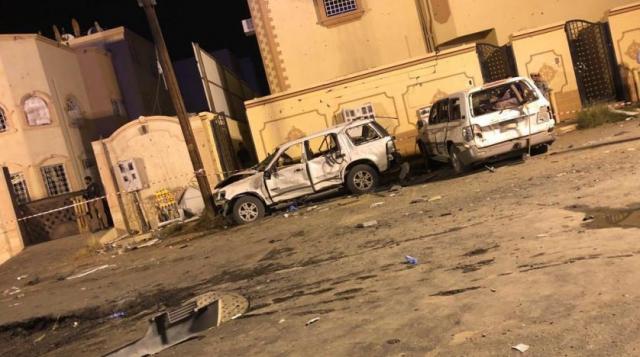 حالة طوارئ في نجران بعد إصابة 37 مواطن و15 منزل و19 سيارة بصاروخ باليستي حوثي..صور
