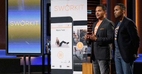 Ben Young and Gregory Coleman, founders of the Sworkit app