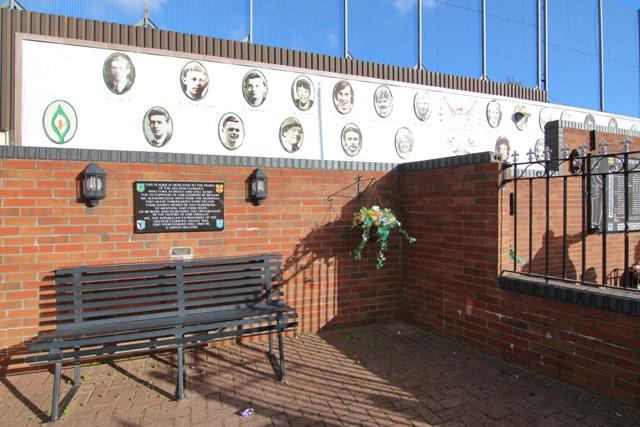 El Muro de la Paz en Belfast