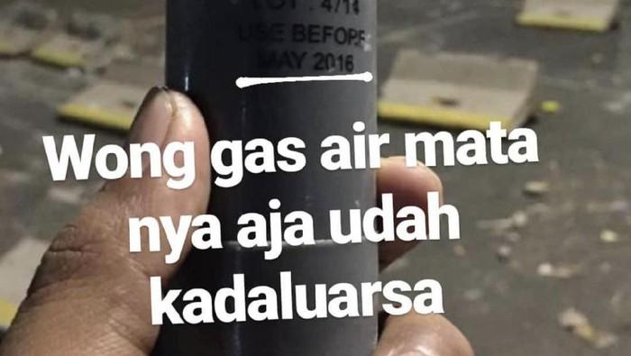 Dampak Gas Air Mata Kadaluarsa