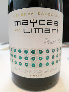 Maycas del Limarí Reserva Especial Pinot Noir 2014 - Limarí Valley, Chile (88+ pts)
