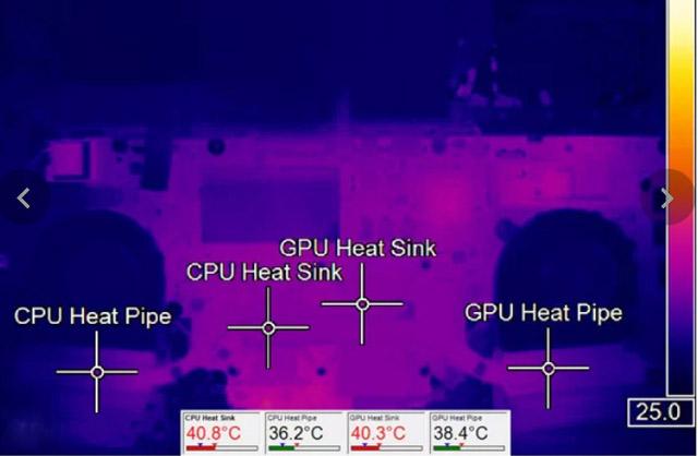 testes de temperatura e aquecimento notebook acer aspire vx5