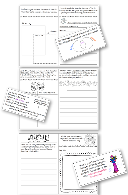 Write Every Day! {Updated Writing Center Task Cards