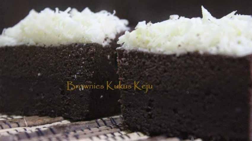 Resep Membuat Kue Brownies Kukus Keju Ny. Liem