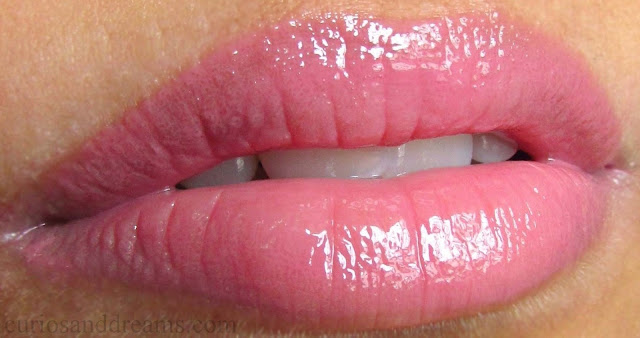 NYX Butter Gloss Angel Food Cake review, NYX Butter Gloss Angel Food Cake swatch