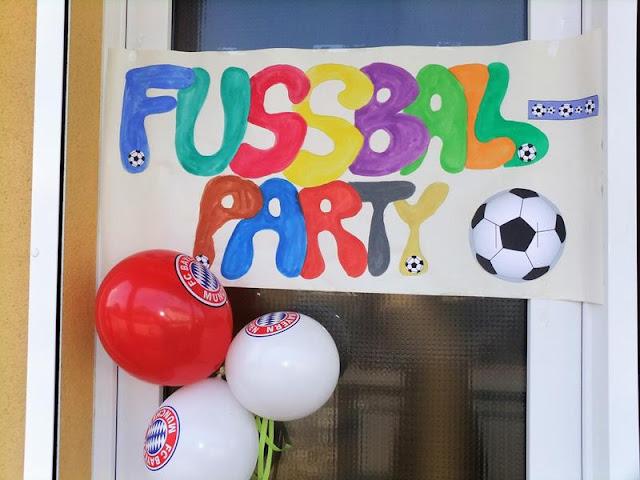 Fußballparty mit Kindern