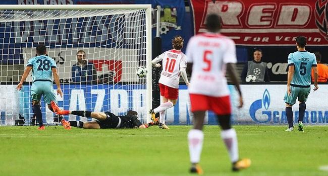 cuplikan gol porto vs leipzig 3-1