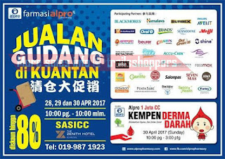 Farmasi Alpro Warehouse Sale Kuantan 2017