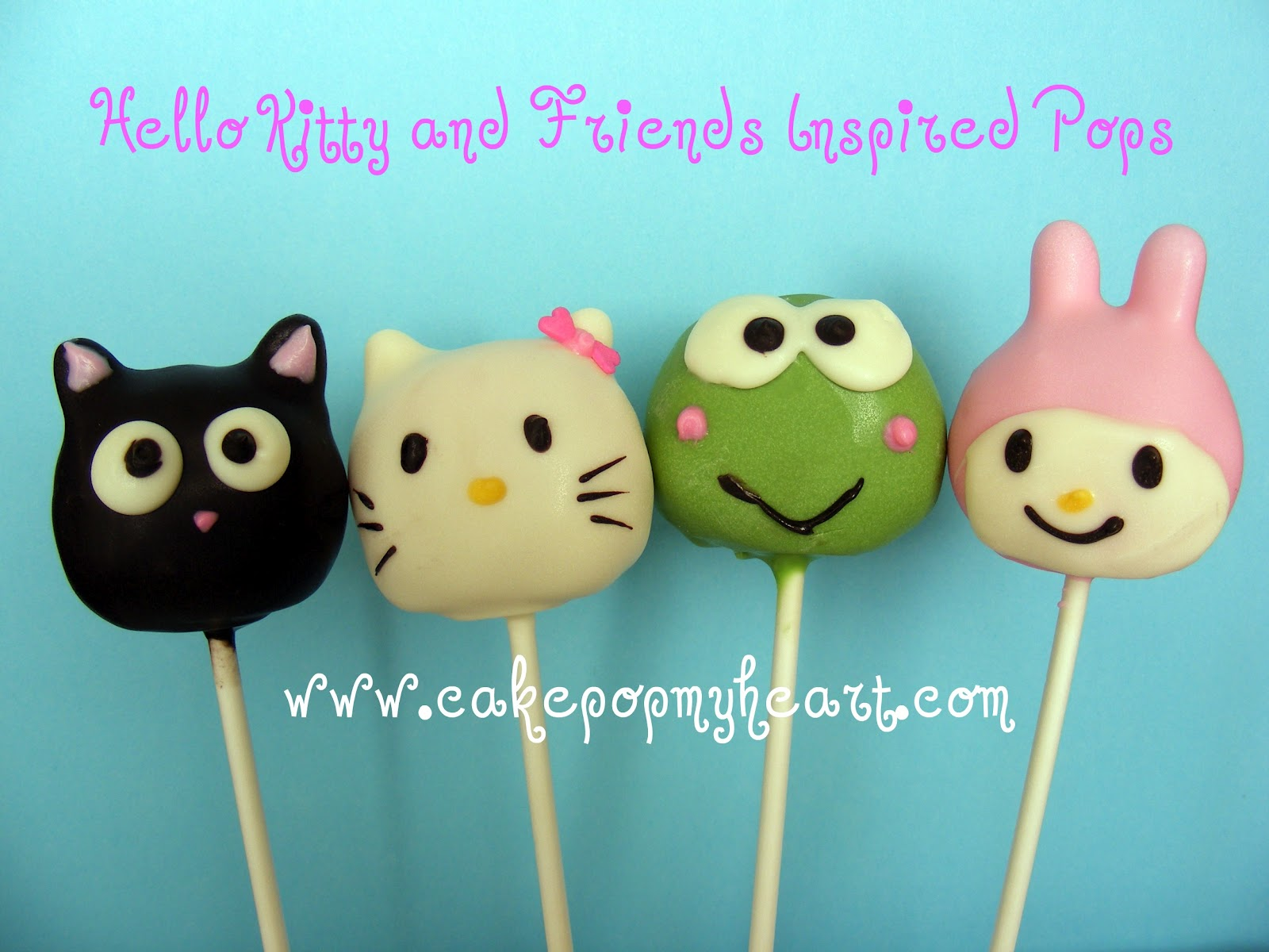 02a2acc93 Hello Kitty and Friends. Posted by Cake Pop ...