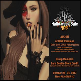 Halloweek Sale