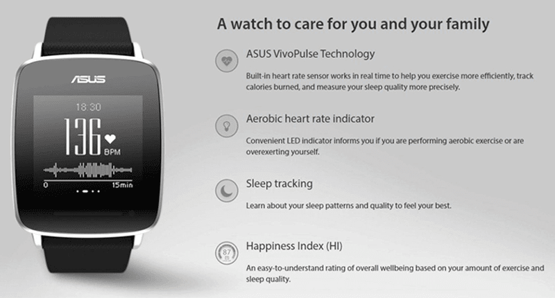 Asus VivoWatch Now In PH, Priced At 6990 Pesos