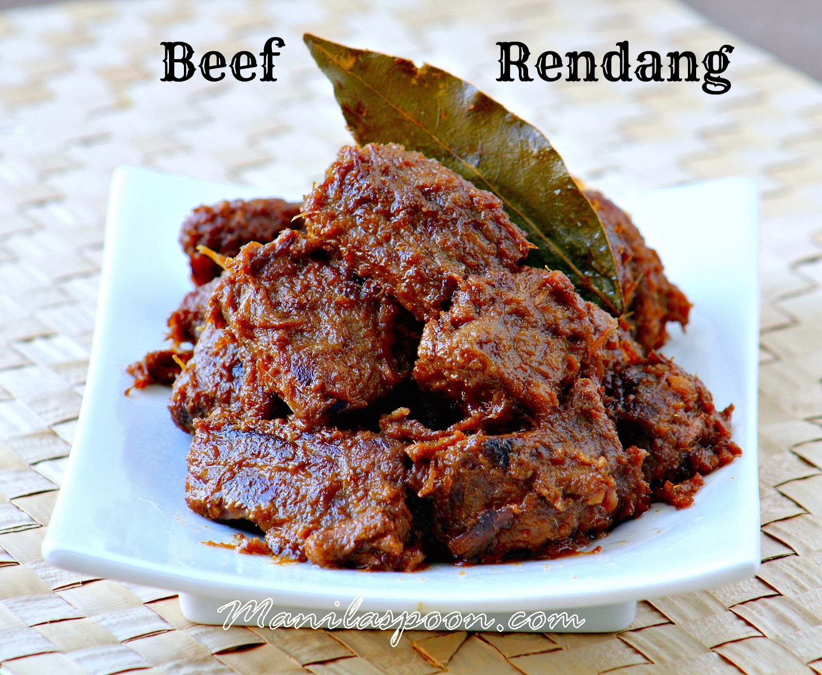 Beef Rendang Recipe Bbc Good Food