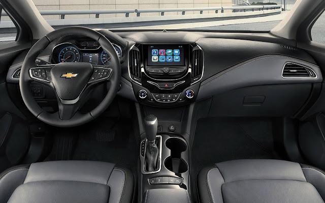 Novo Chevrolet Cruze 2020 - interior