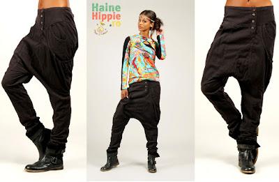 Pantaloni cu buzunare laterale