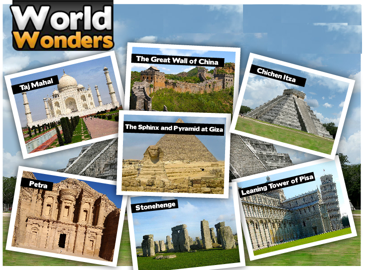 World Wonder Jigsaw Puzzle