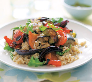roasted veggie and quinoa salad recipe