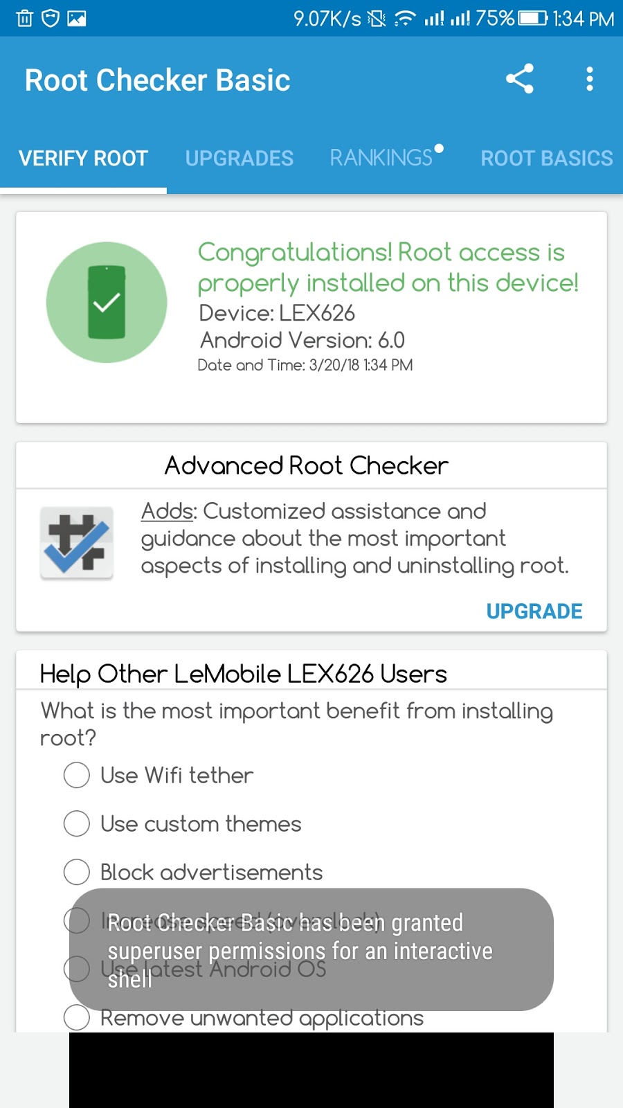 How to Root Le s3 x626,x622,x520,x620,etc without PC