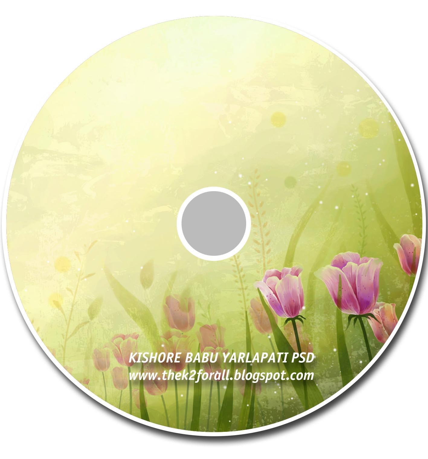 Free Photoshop Karizma Album Free Floral Cd Dvd Cover Designs