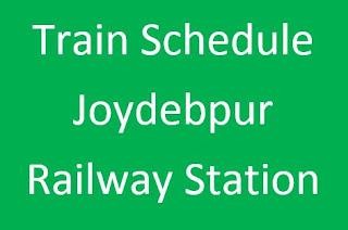 Train Schedule of Joydebpur Railway Station