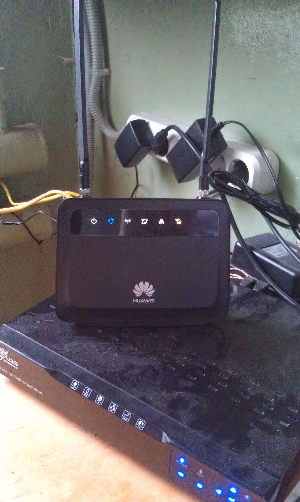 Huawei B-880 и видеорегистратор