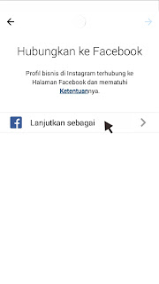 menautkan instagram dan facebook